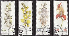 SOUTH AFRICA 1981 10th WORLD ORCHID CONF DURBAN COMPLETE SET USED 0382