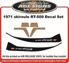 1971 SKIROULE RT-500 DECAL KIT  REPRODUCTIONS