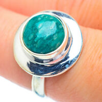 Amazonite 925 Sterling Silver Ring Size 7.75 Ana Co Jewelry R35034F