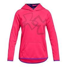 Under Armour Apparel Girls Fleece Dual Logo Hoodie- Pick SZ/Color.