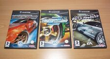 Lot 3 Jeux GameCube Nintendo -  Need for Speed Underground 1 2 Most wanted - VF