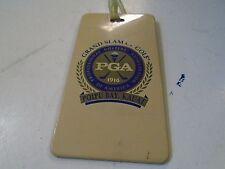 Grand Slam Golf Bag Tag Poipu Bay Kauai Plastic 1994-2006 Major Champions