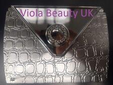 Technic Double Mirrored Silver Purse Mirror Light Compact Purse Size