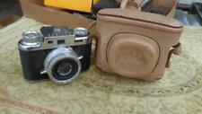Bolsey Jubilee 35mm 1955 Camera  With Leather Cover