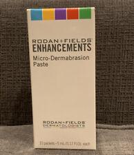 Rodan & Fields Enhancements Micro-Dermabrasion Paste 10 Packets 5 ml/0.17 oz