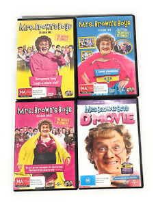 MRS BROWNS BOYS Brown's Season 1 2 3 + D'Movie DVDs Series One Two Three R4