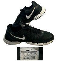 Nike Dual Fusion TR 6 Men's 10 Training Shoes Black White Running No. 704889-001