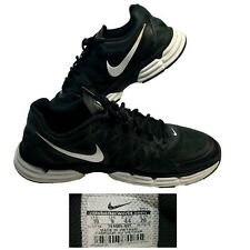 18249dc903c Nike Dual Fusion TR 6 Men s 10 Training Shoes Black White Running No.  704889-