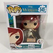 Funko Pop! Disney The Little Mermaid Ariel 545 Sail Dress Boxlunch Exclusive MIB