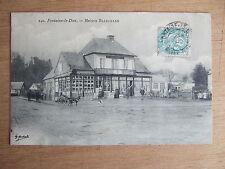 CPA FONTAINE LE DUN (76 SEINE MARITIME) MAISON BLANCHARD. TIMBREE 1906