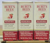 Burt's Bees Renewal Smoothing Eye Cream 3- 0.58 oz 3pk  #27761