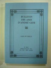 BULLETIN DES AMIS D'ANDRE GIDE N° 90-91 1989 VOL XIX - XXIVe ANNEE TBE