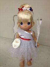 "Precious Moments Disney Tinker Boom White Tinkerbell 12"" Doll #4903"
