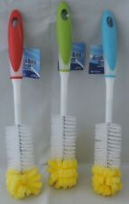 One Kitchen Cleaning-Tool Sponge Brush Bottle/Glass Dish Cleaner Soft Bristles