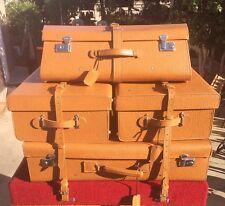 Fitted Porsche 356 Handmade Luggage Set