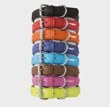 Rogz Leather Dog Collars