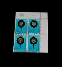 U.N. 1973, GENEVA #32, FIGHT DRUG ABUSE, INSC. BLK/4, NICE!! LQQK!!