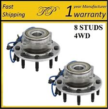 Front Wheel Hub Bearing Assembly For 2001-2006 CHEVY SILVERADO 2500HD 4WD (PAIR)