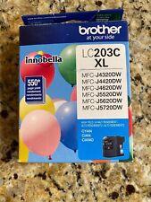 Brother Innobella Lc203c Ink Cartridge - Cyan - Inkjet - High Yield - 550 Page -