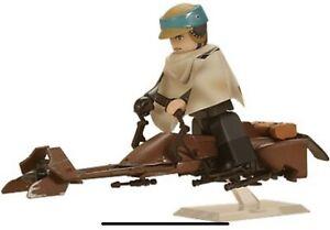 Star Wars Kubrick Medicom - Speeder Bike w/ Luke Skywalker & Princess Leia