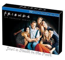 Friends: Complete TV Series Seasons 1-10 Boxed BluRay Set [Region Free]