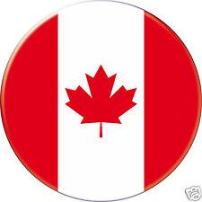 5 x sticker 5cm auto moto velo valise pc portable drapeau Rond Canada