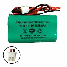 NiMH AA 1800 mAh 4.8v Battery Pack Replacement for Emergency / Exit Light