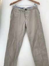Mens Chinos River Island Size 30 32 Stone Casual <JJ3961