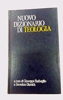Nuovo dizionario di teologia - di Barbaglio e Dianich - Edizioni paoline, 1985