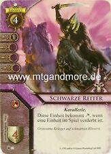 Warhammer Invasion - 2x Schwarze Reiter  #033