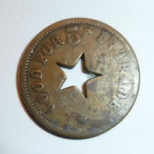 Trade Token Maverick HENRY JOHN Star Cutout GF 5c IT