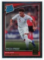2018-19 JADON SANCHO PANINI DONRUSS PRESS PROOF RATED ROOKIE RC#189 SILVER