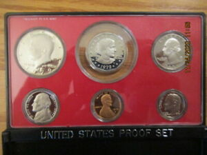 1979-S  US Complete Proof set   Susan B  Anthony Proof Dollar  Nice Set  FSH