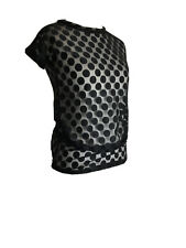 Mamas & Papas Maternity Mesh Top Size 10 Spotted Casual New Tagged R724