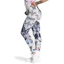 Yakuza Damen Leggings Hose Butterfly White10138 Größe L