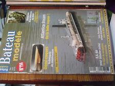 11µ? Revue Bateau Modele n°114 Atlantica Steam Vivier Passerelle Micro Magic