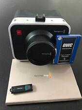 Black Magic Cinema Camera (BUNDLE) 2.5k EF + SSD + DaVinci