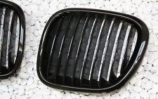 Griglia Radiatore Impostare per BMW Z3 Roadster Coupe Nero Lucido Black