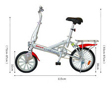 Folding Magenetic Electronic Bike -- Light, Fashionable, Suitable for Teenagers