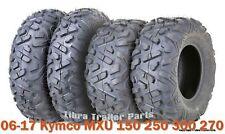 23x7-10 & 22x10-10 ATV Tire Set for 06-17 Kymco MXU 150 250 300 270