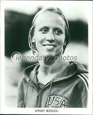 1976 Wendy Boglioli USA Olympic Champion Swimmer Original Press Photo