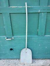 "Vintage Wooden Shovel Farm Grain Snow Tool Measuring 53"" Long GREAT OLD FINISH"