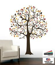 5 FT Tree Wall Decal Deco Art Sticker Mural - FALL COLOR