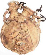 Rare Vintage Jim Rumph ? Pottery 2 Spout Ogre Bottle Decanter Face Jug Goblin