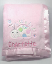 Unbranded Fleece Nursery Blankets & Throws with Embroidered