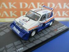 Die cast 1/43 Modellino Auto MG Metro 6R4 Rally RAC 1986 J.Mc.Rae