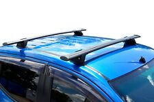 Aero Roof Rack Cross Bar for Holden Colorado 12-19 RG Black Flexible 135cm