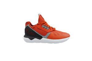 [B25524] Adidas Tubular Runner Mens Running Orange/Black
