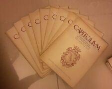 ANNATA RIVISTA CAPITOLIUM COMUNE DI ROMA CAPITOLIVM 1956