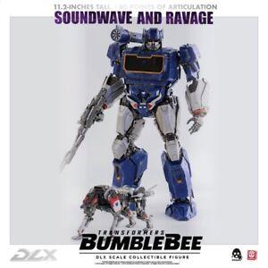 Three Zero Transformers Bumblebee DLX  Scale Soundwave & Ravage